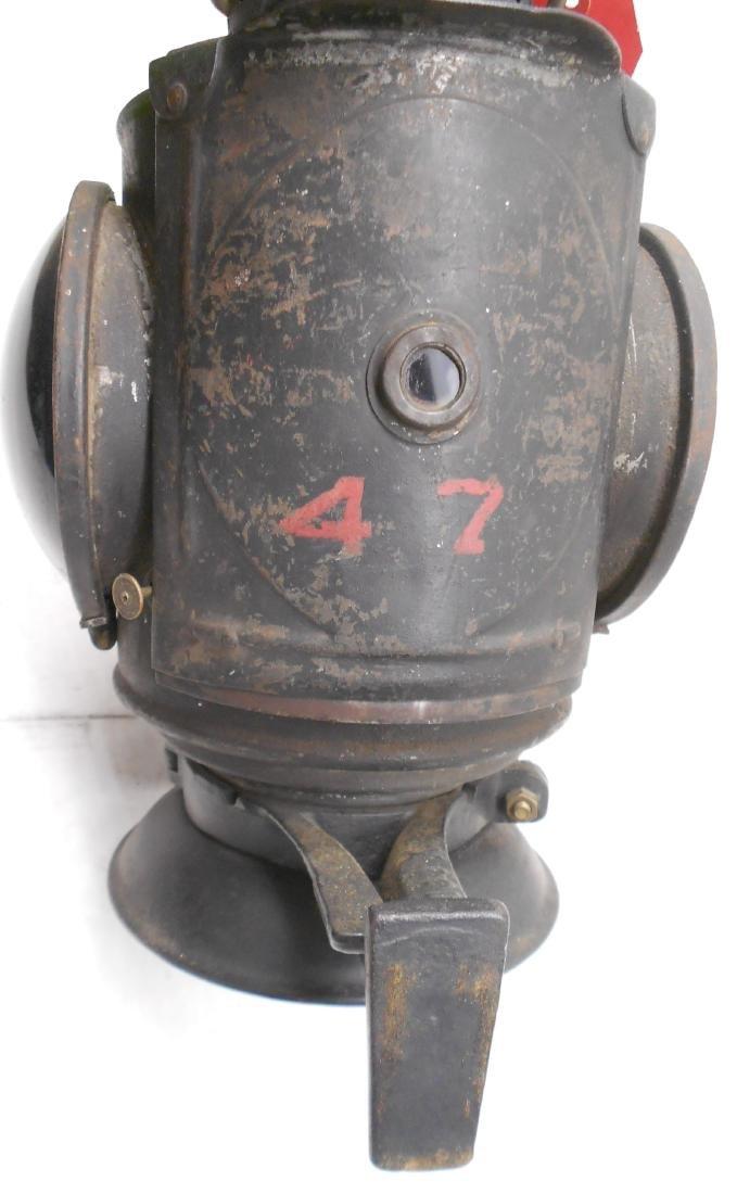 Schenectady Railway Trolley Marker Lamp - 4