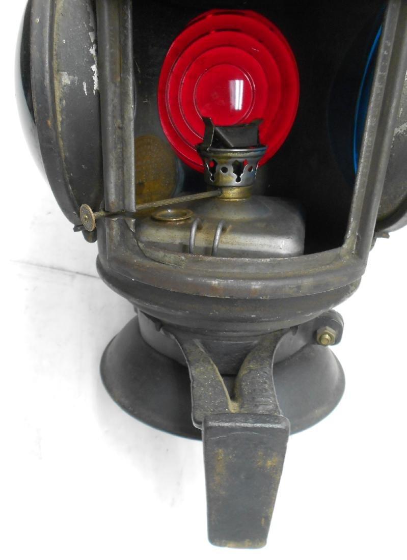 Schenectady Railway Trolley Marker Lamp - 5