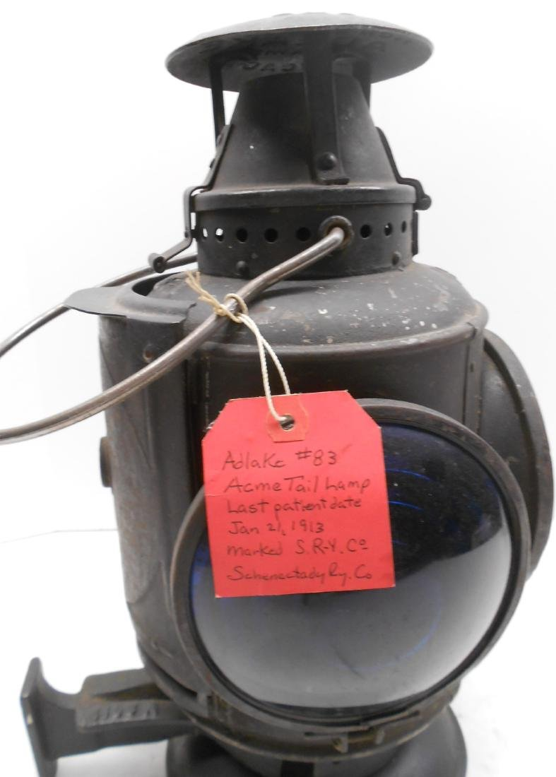 Schenectady Railway Trolley Marker Lamp - 6