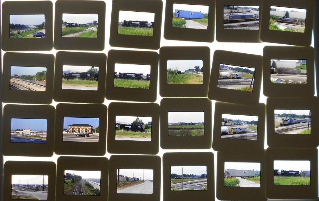 Boxed Train Color Slides East (900+) - 2