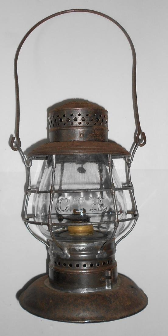 Grand Trunk Railway Bellbottom Lantern EB Globe - 2