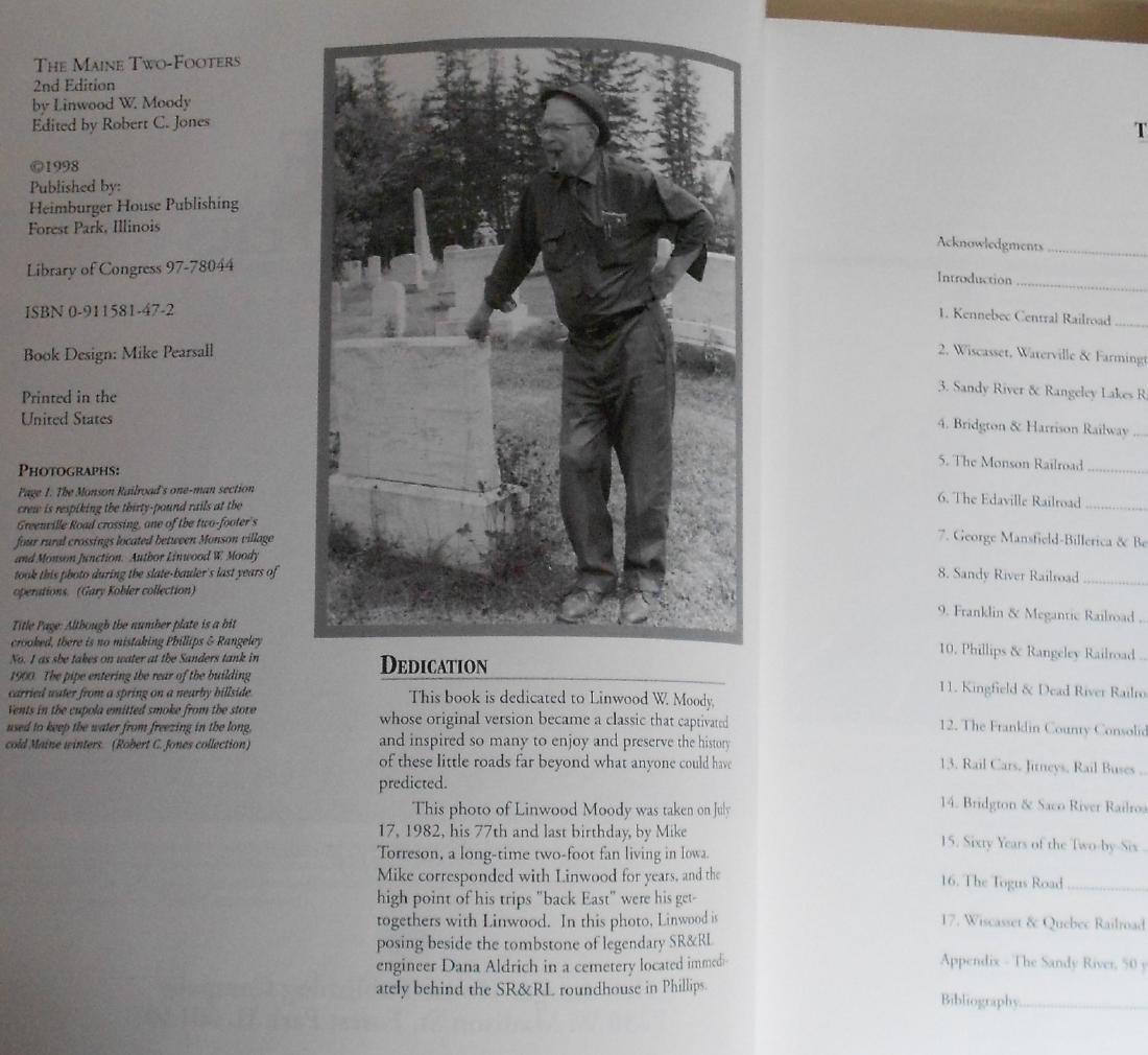 5 Maine Narrow Gauge Books by R. C. Jones - 3