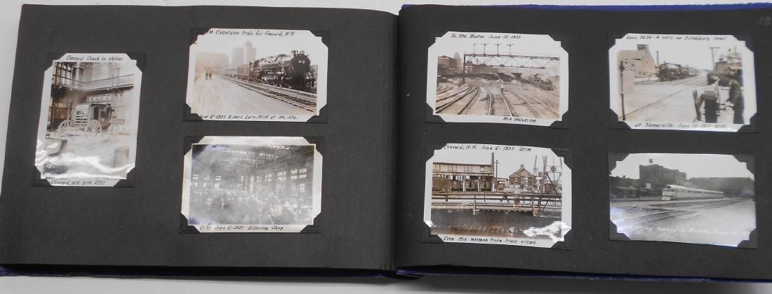 1936 Photo Scrapbook Steam Locomotives - 7