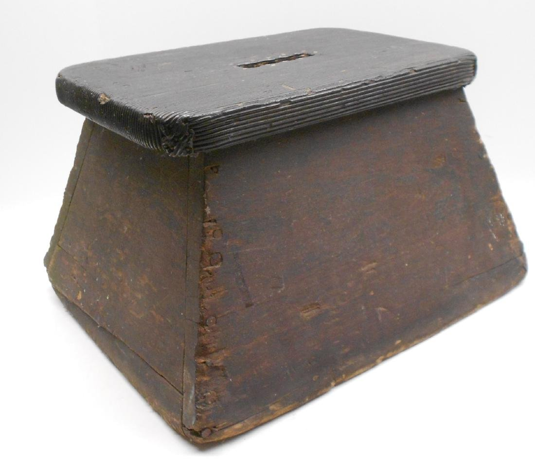 Wooden Step Box attributed to B&M 1965 Buy