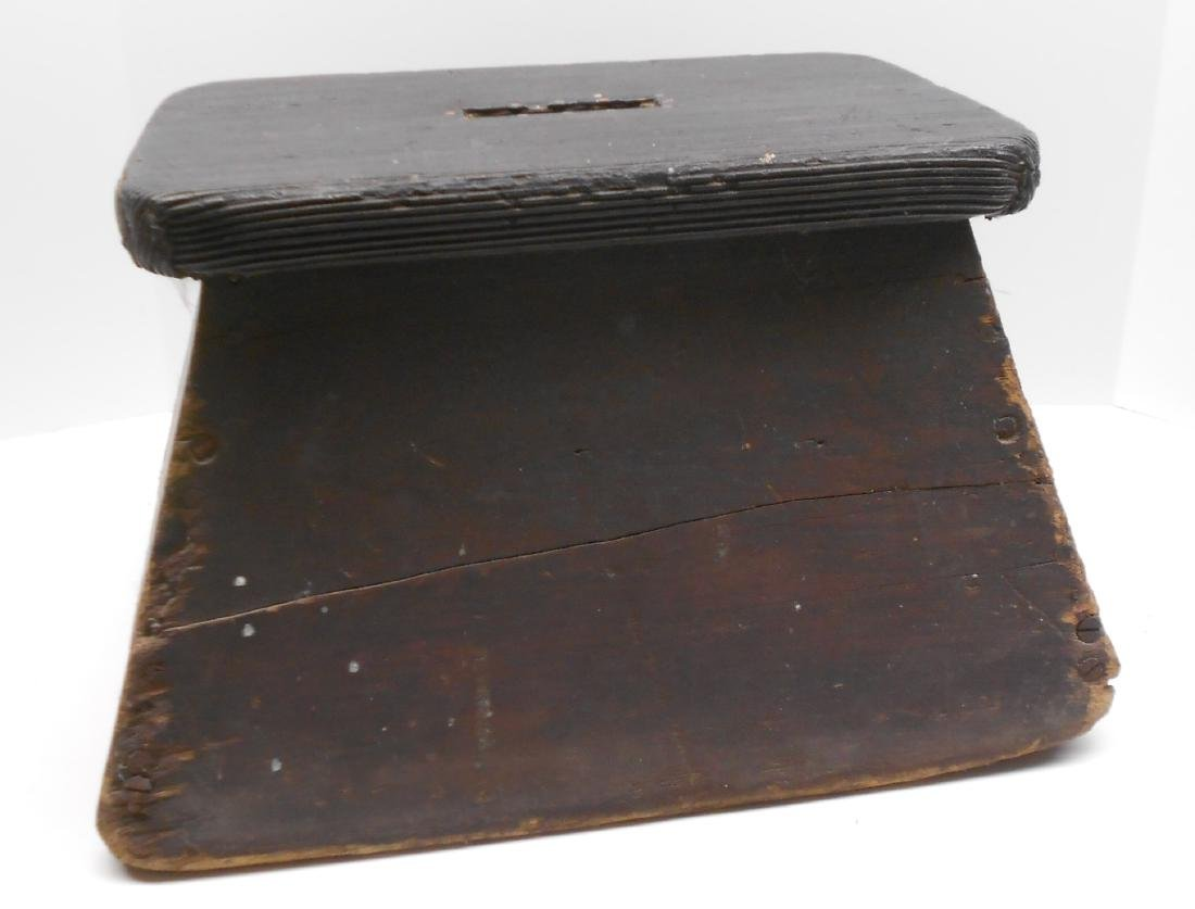 Wooden Step Box attributed to B&M 1965 Buy - 2