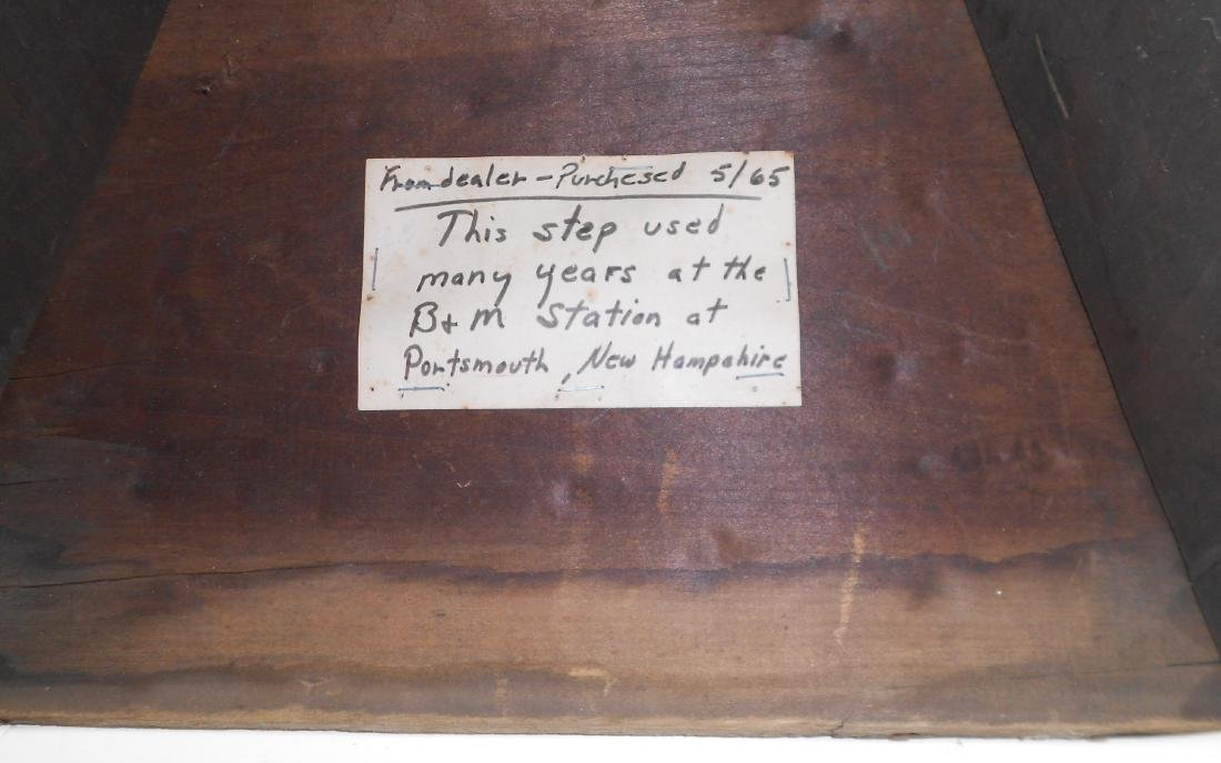 Wooden Step Box attributed to B&M 1965 Buy - 4
