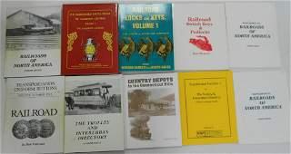 Railroad Reference Books: Barrett, Van Court, etc.
