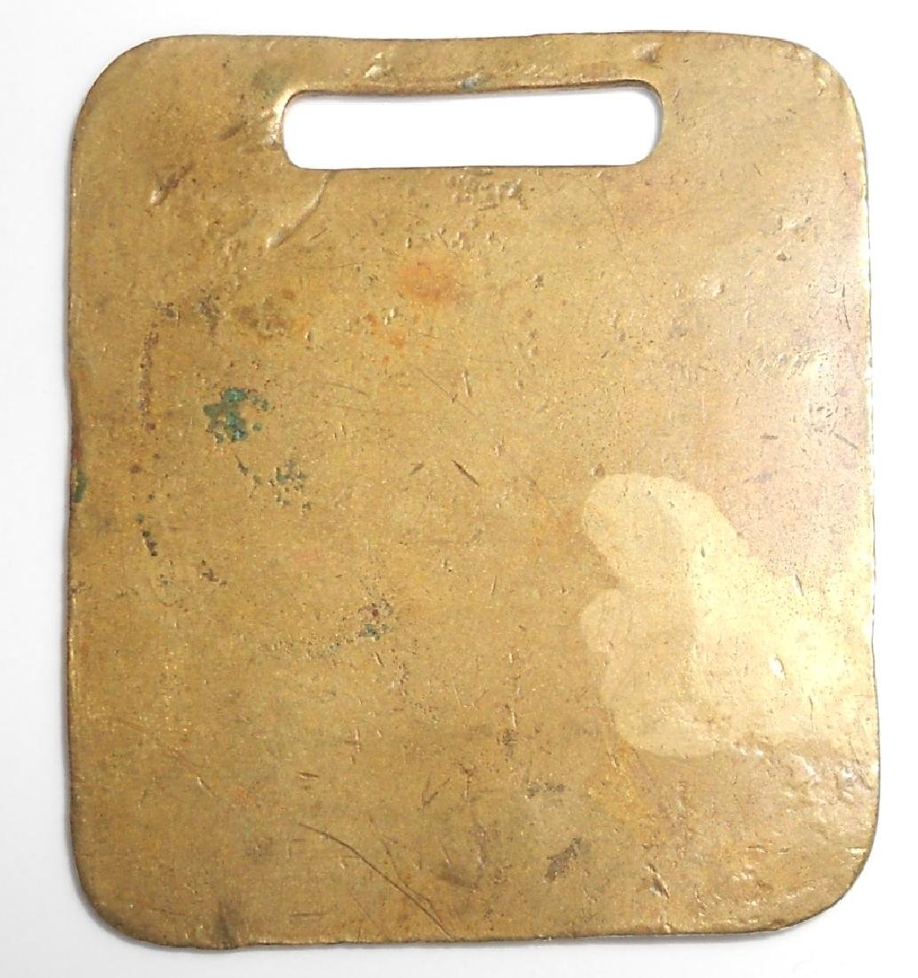 Montpelier & Wells River Railroad Baggage Tag - 2