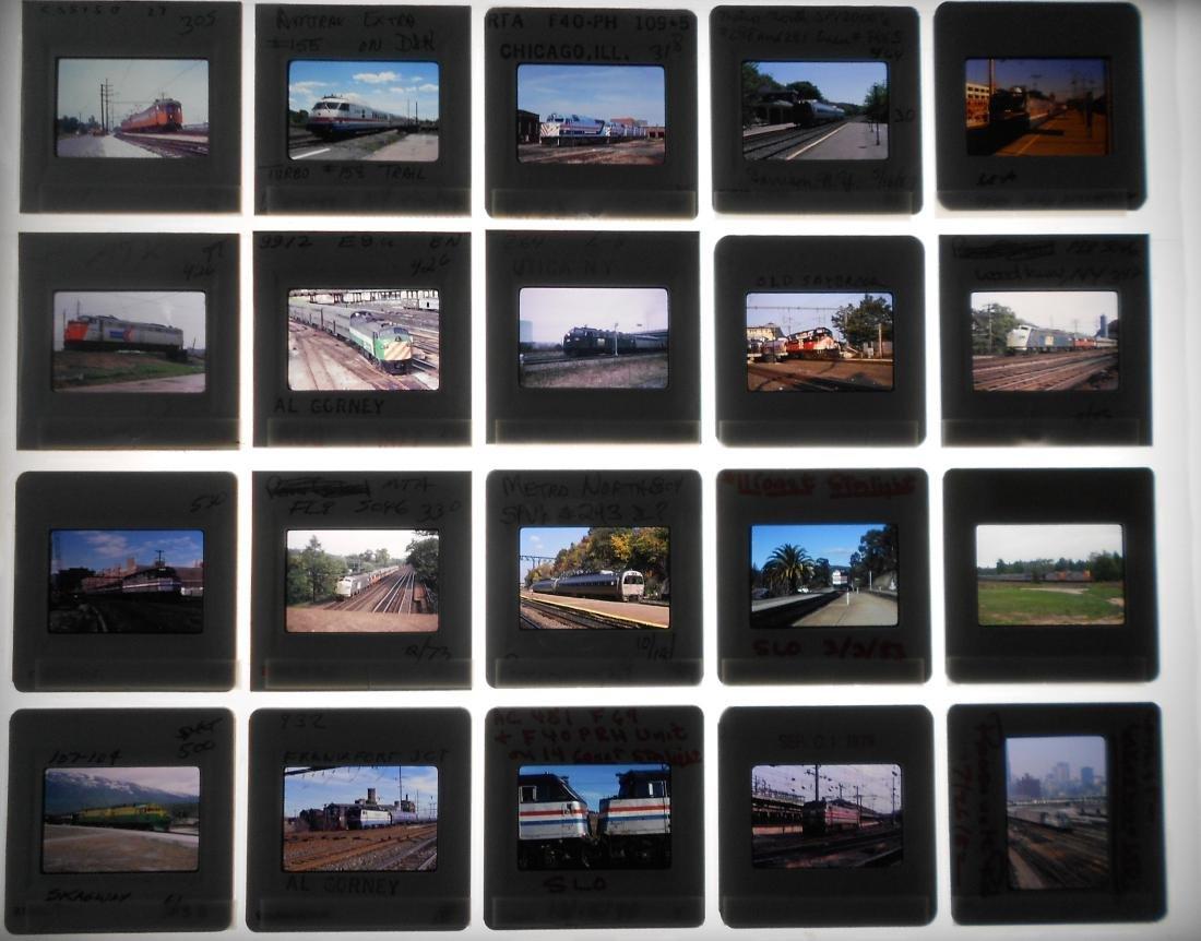 Railroad Locomotive Color Slides (218) - 3