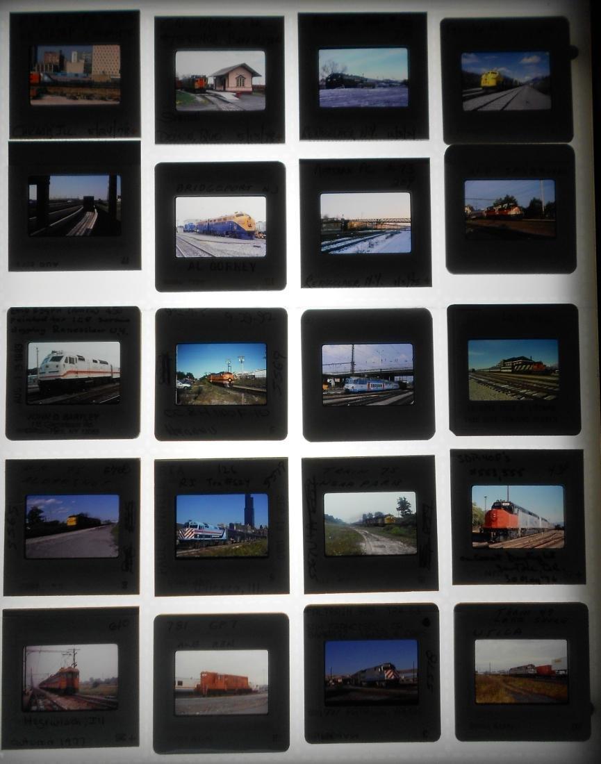 Railroad Locomotive Color Slides (218) - 4