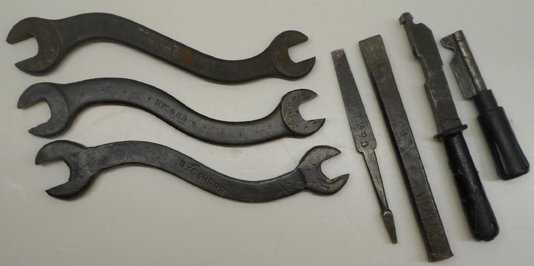 Railroad Tools NYC&HR, C&A
