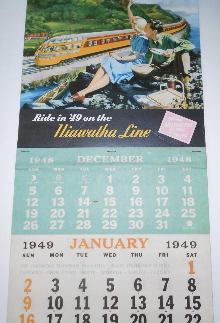 Milwaukee Road 1949 Calendar - 2