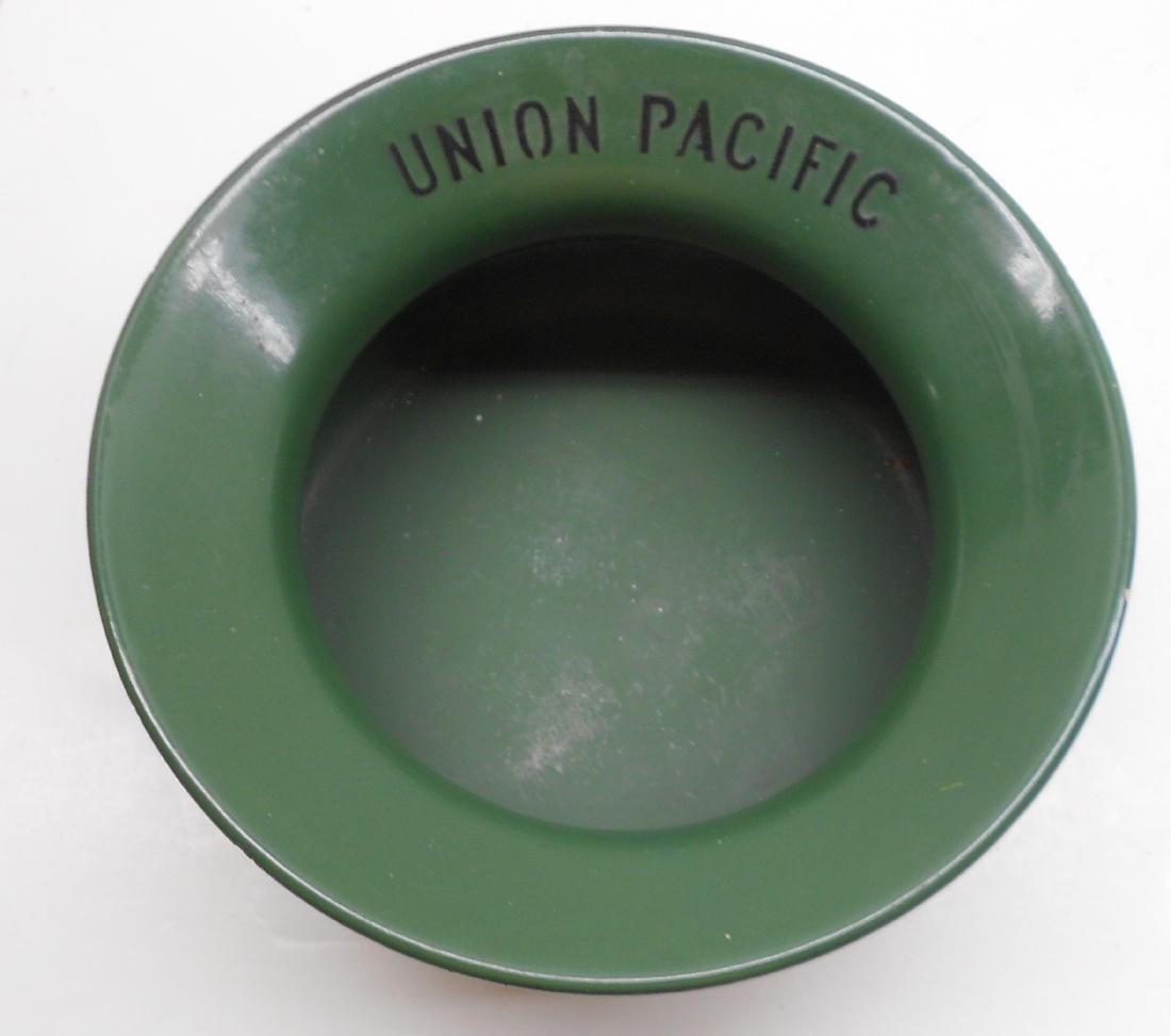 Union Pacific Railroad Porcelain Spittoon