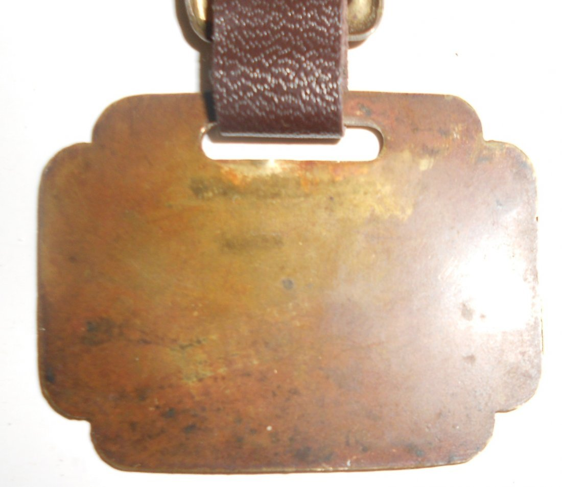 Wiscasset & Quebec Railroad Baggage Tag - 3