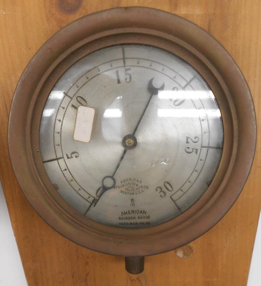 2 Gauges: Westinghouse, American Bourdon - 3