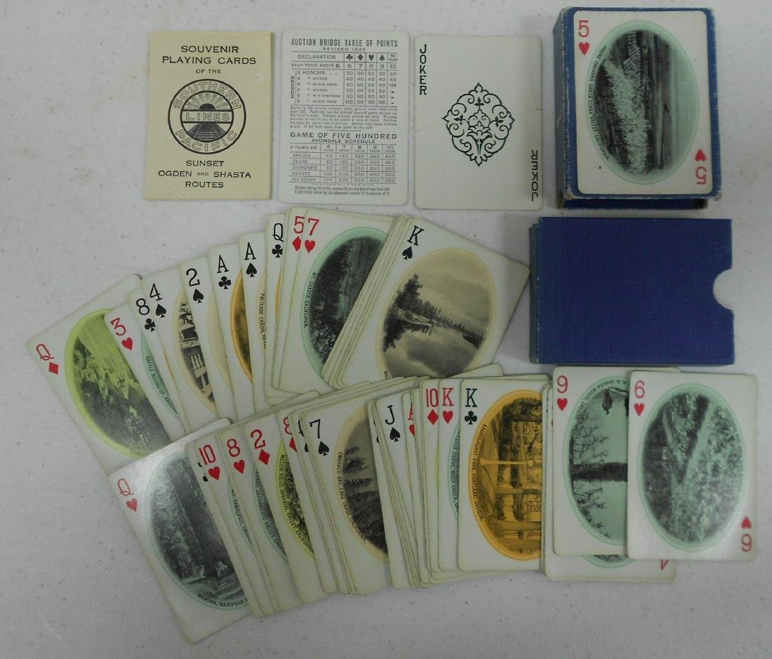 Older Railroad Playing Cards (3) - 2