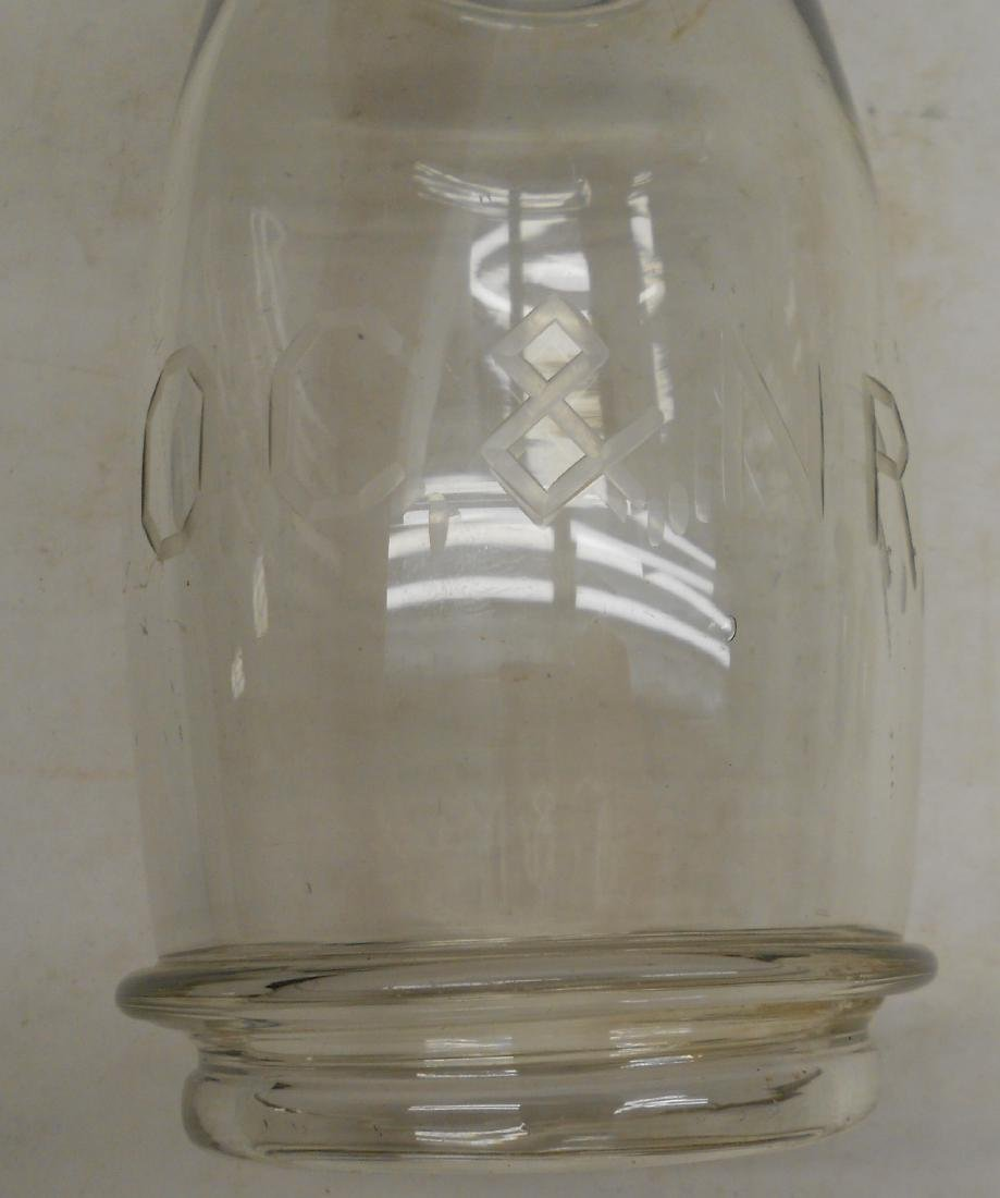 Old Colony & Newport Railway Fixed Globe from Lantern - 2