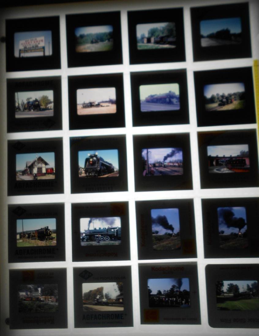 Railroad Slides Steam Locomotives (91) - 4