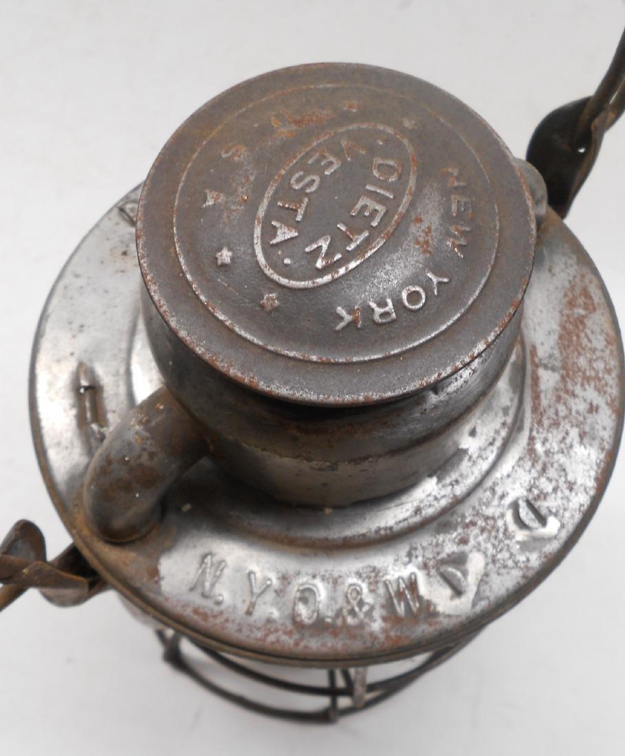 New York Ontario & Western Railroad Lantern - 3