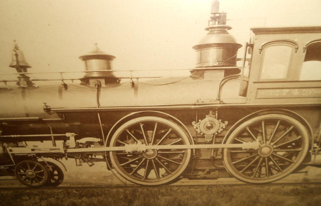 Framed Eastern Railroad Hinkley Locomotive - 3