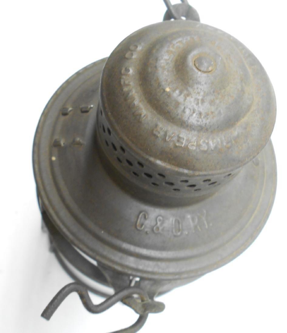 Chesapeake & Ohio Railway Armspear Lantern - 3