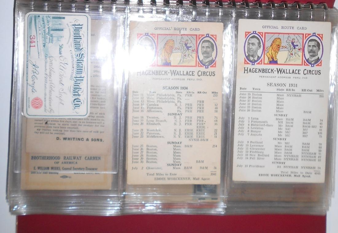 Notebook - Blotters, Trade Cards, D&H Coal