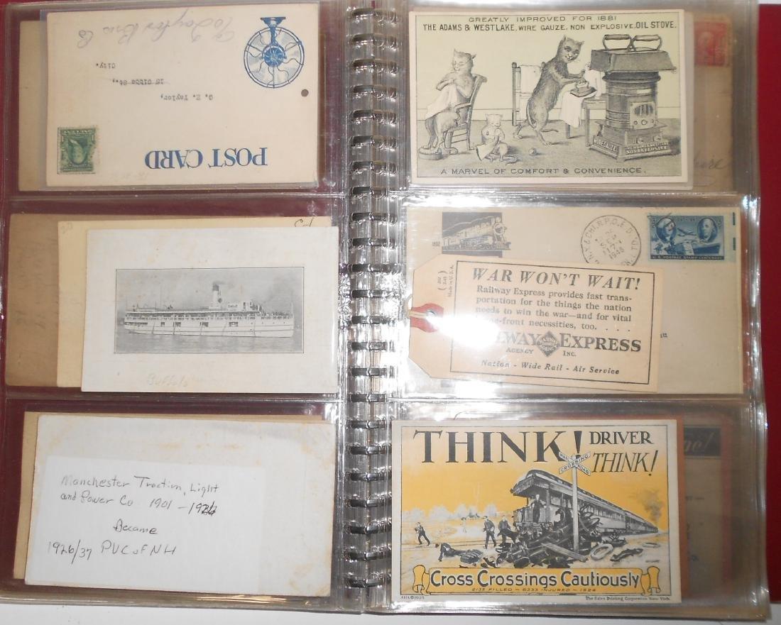 Notebook - Blotters, Trade Cards, D&H Coal - 3