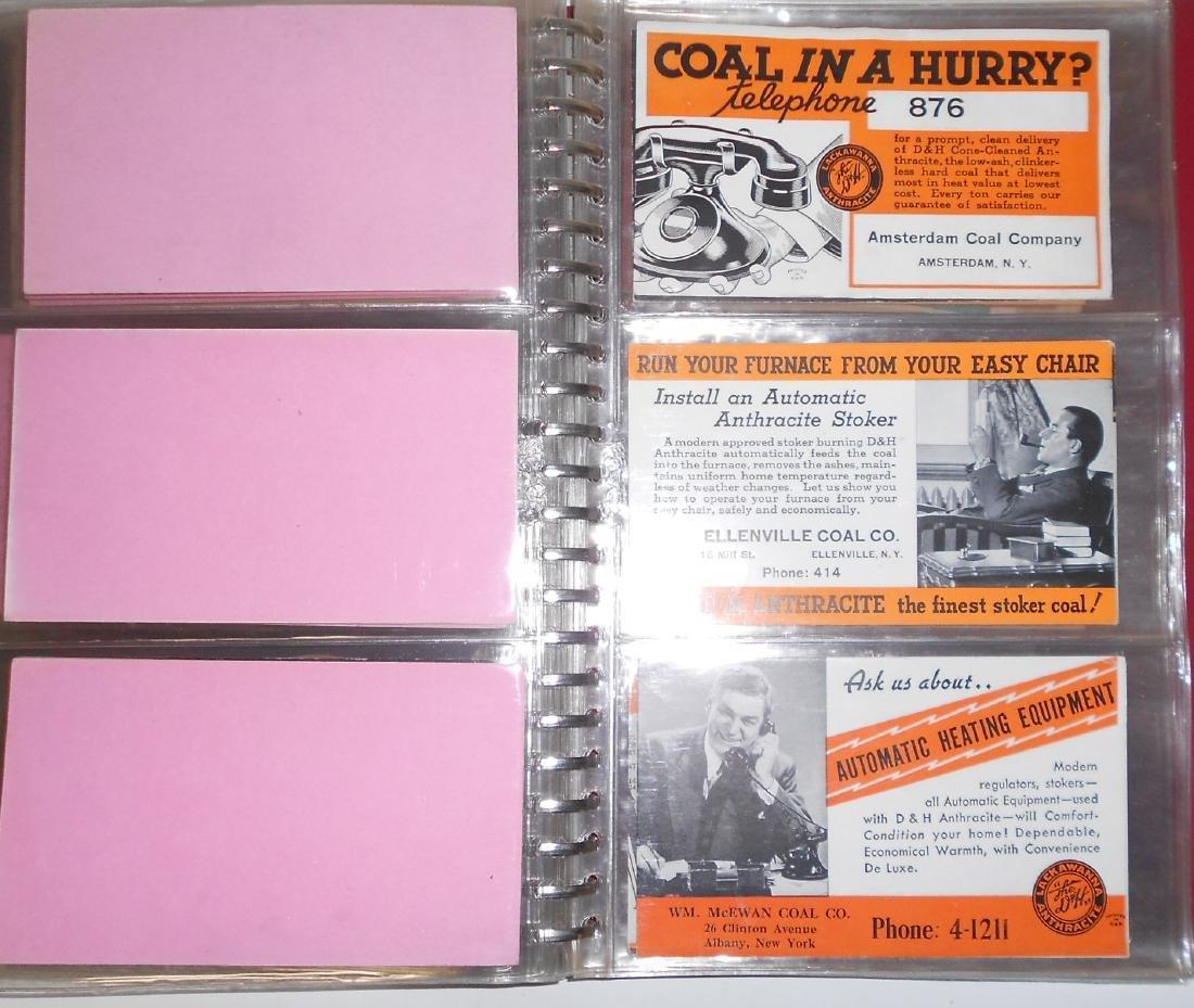 Notebook - Blotters, Trade Cards, D&H Coal - 7