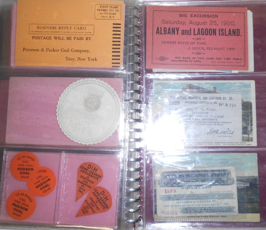 Notebook - Blotters, Trade Cards, D&H Coal - 8