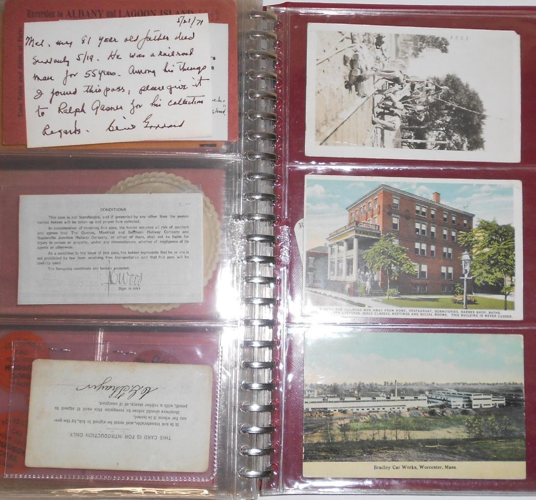 Notebook - Blotters, Trade Cards, D&H Coal - 9