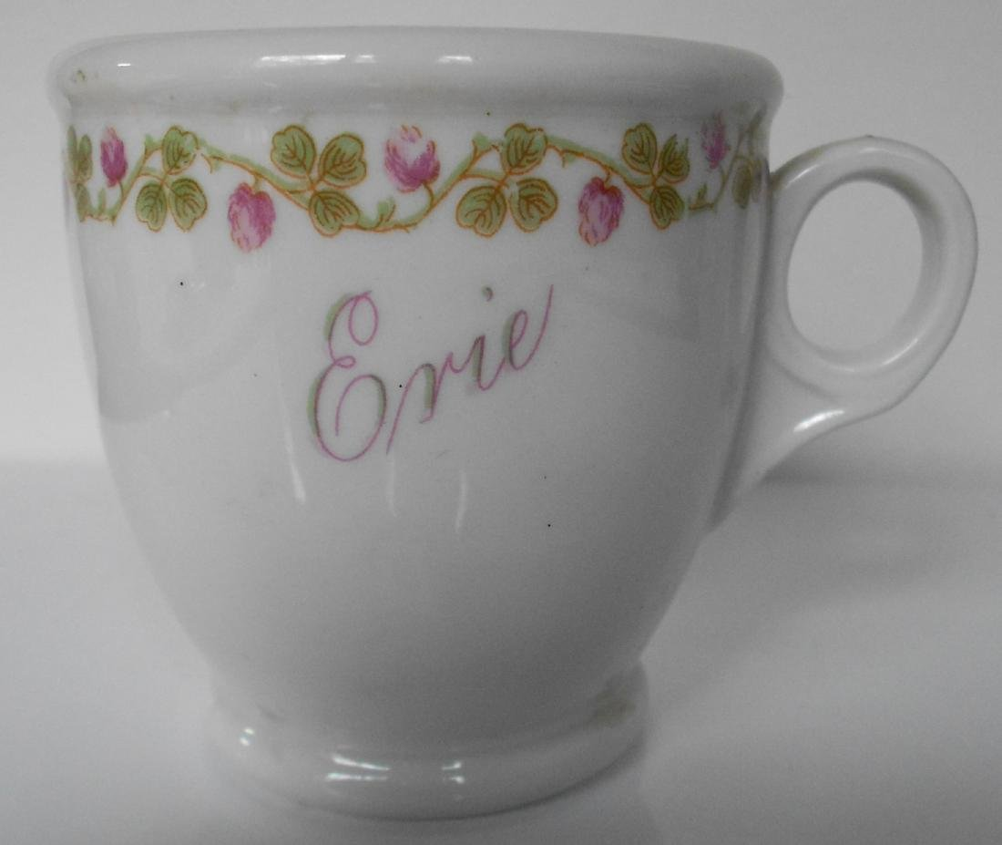 "Erie Railroad ""Gould"" Pattern Chocolate Cup"