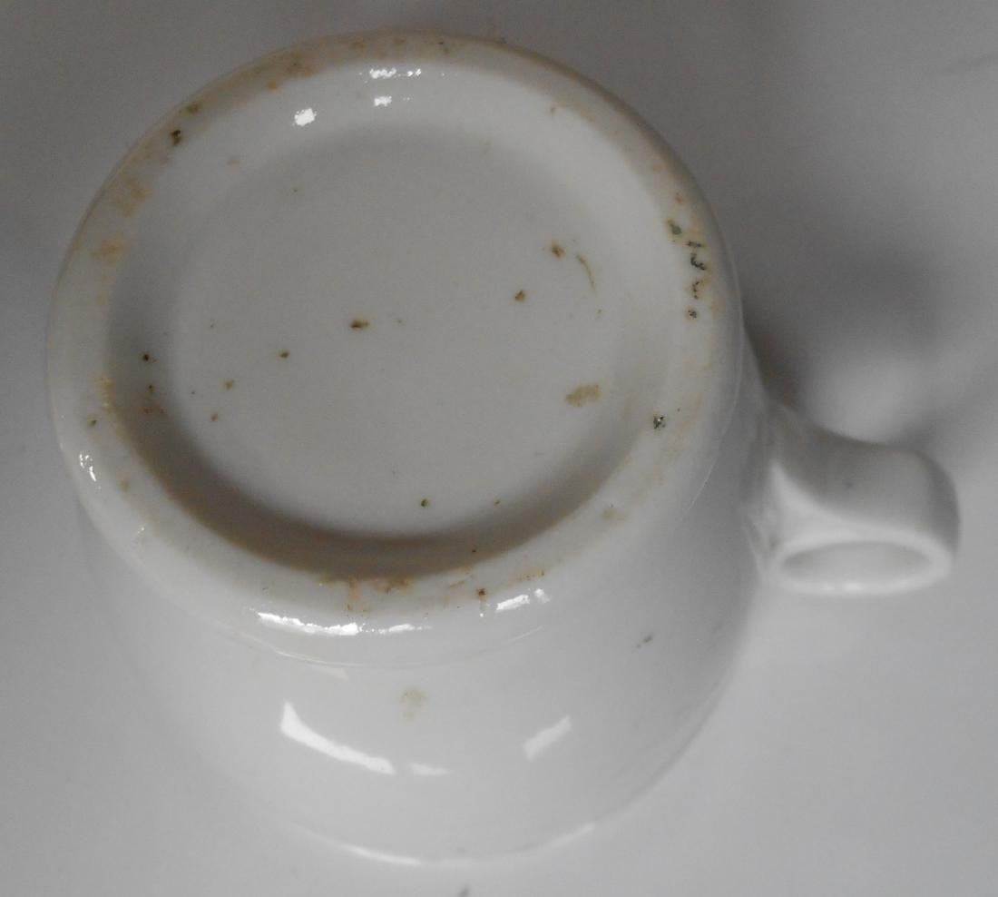 "Erie Railroad ""Gould"" Pattern Chocolate Cup - 4"