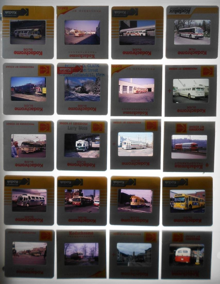Trolley & Bus Color Slides Diverse (180) - 3
