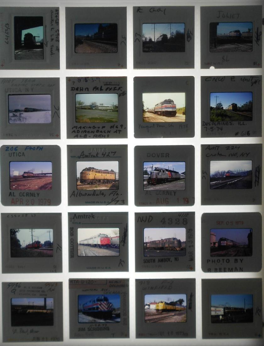 Passenger Railroad Color Slides (200) - 3