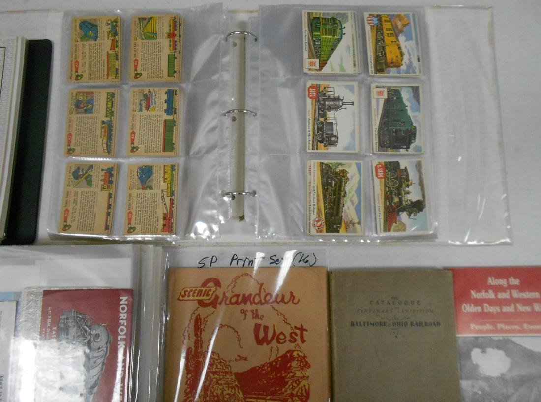 3 Notebooks of Railroad Ephemera - 3