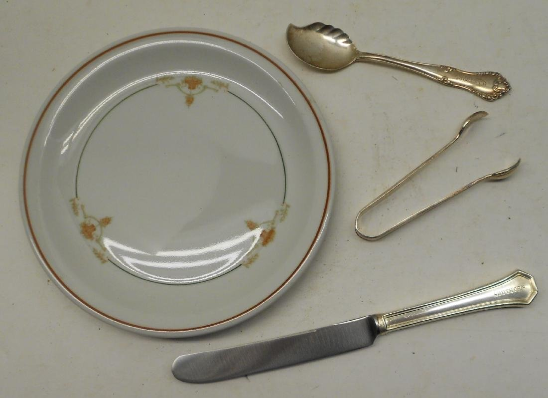 Southern Railway Dining Car Items