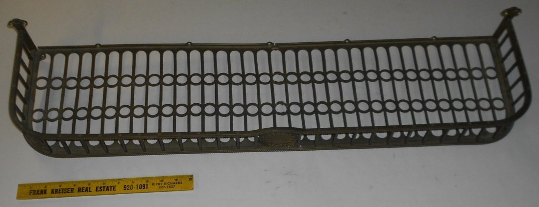 Brass Rack from Passenger Car