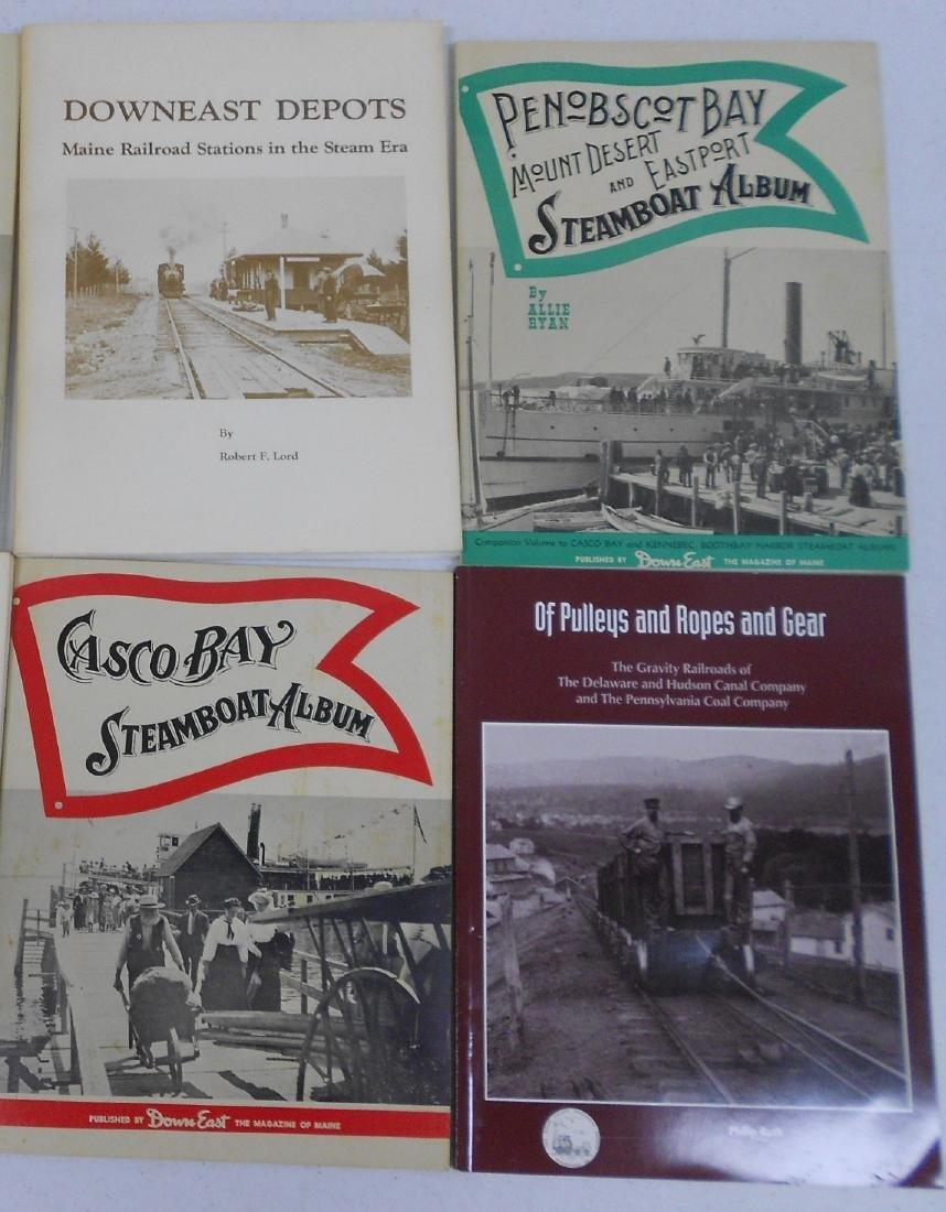 10 softcover Railroad Books - 3