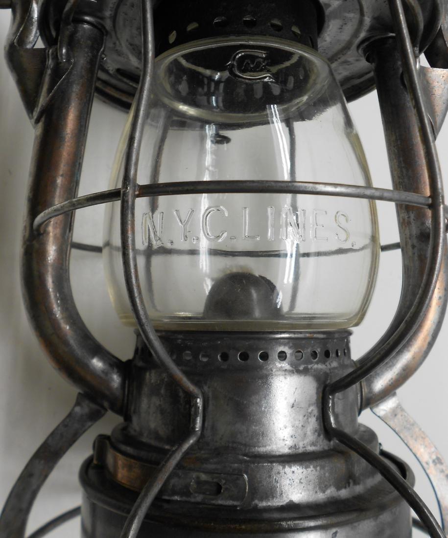 Pittsburgh & Lake Erie Railroad Dietz Lantern - 4