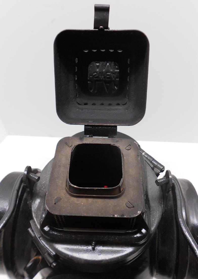 Western Style Adlake Switch Lamp Fork Base Bellbottom - 5
