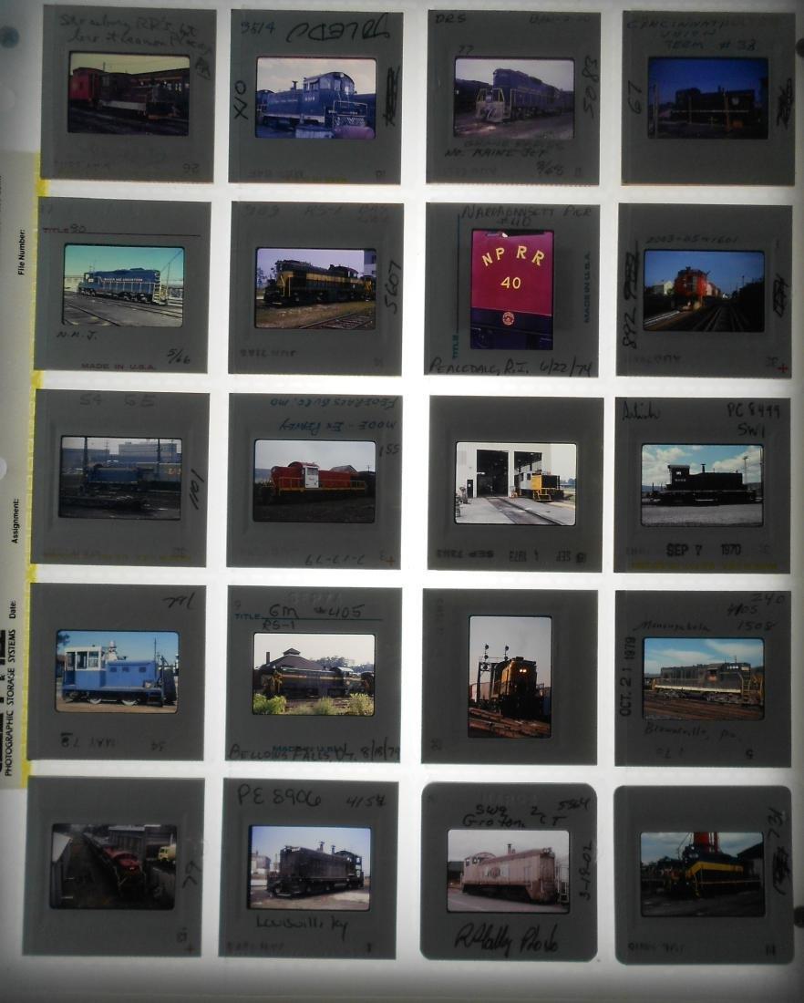 Railroad Short Line Color Slides (239) - 2