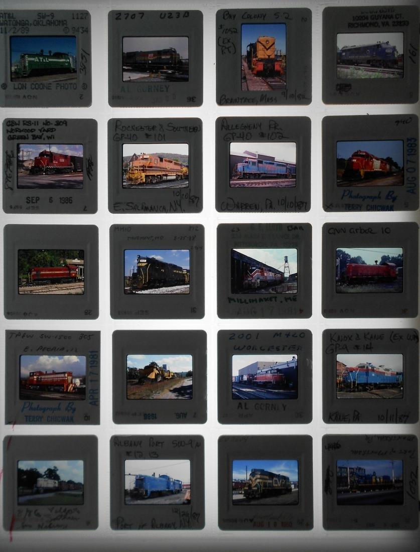Railroad Short Line Color Slides (239) - 4