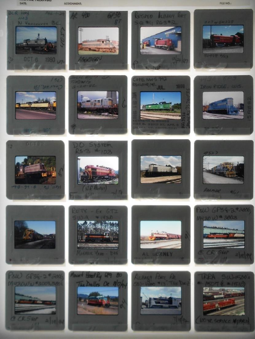 Railroad Short Line Color Slides (239) - 5
