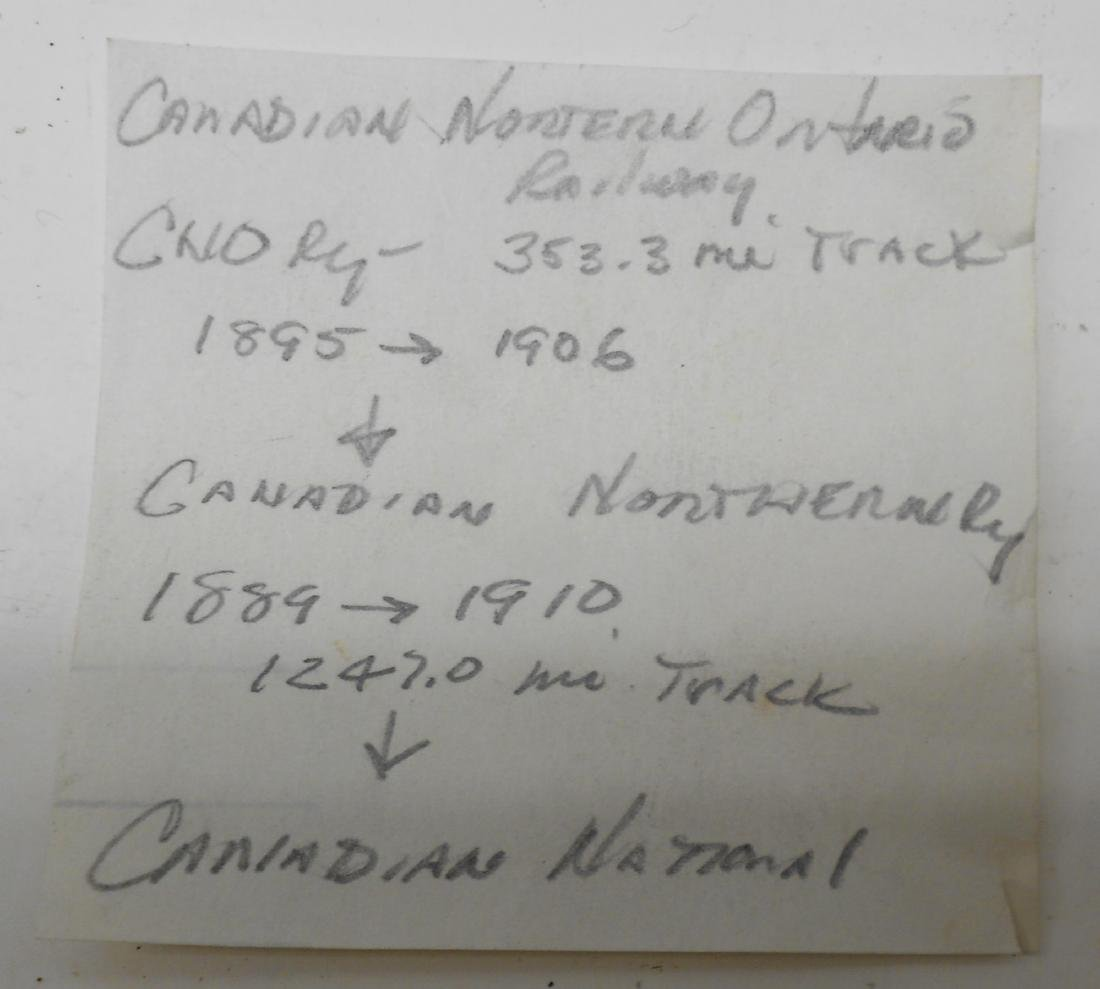 Canadian Northern & Ontario Keystone Casey Lantern - 6