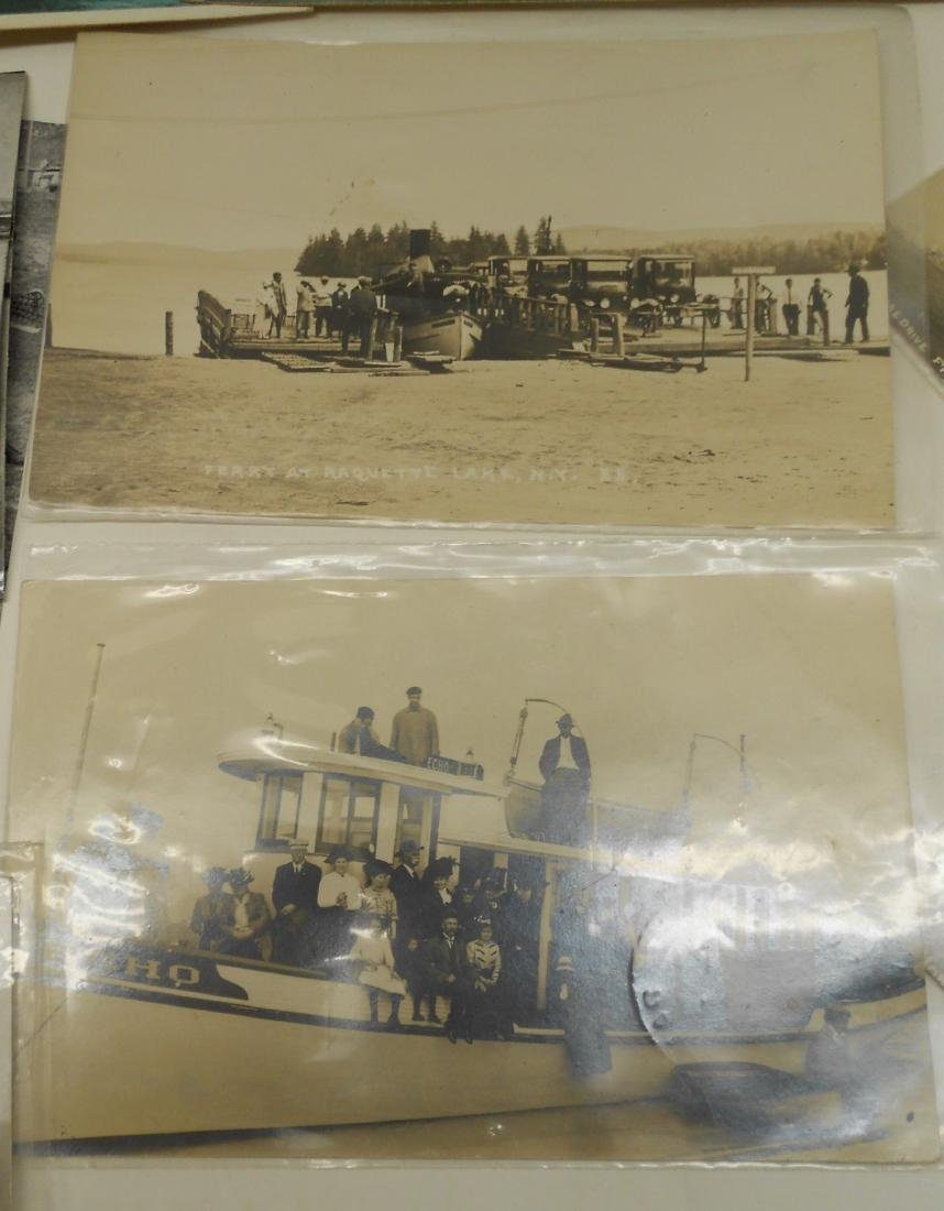New York & New England Boat Folders Postcards - 3