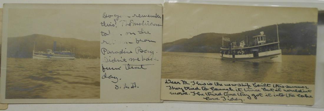 New York & New England Boat Folders Postcards - 4