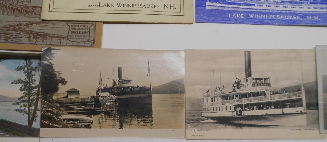 New York & New England Boat Folders Postcards - 5