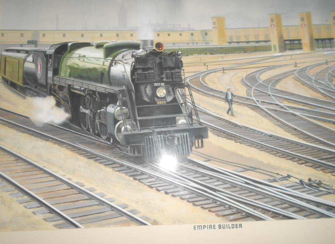 McMahon Original Watercolor Painting GN - 3