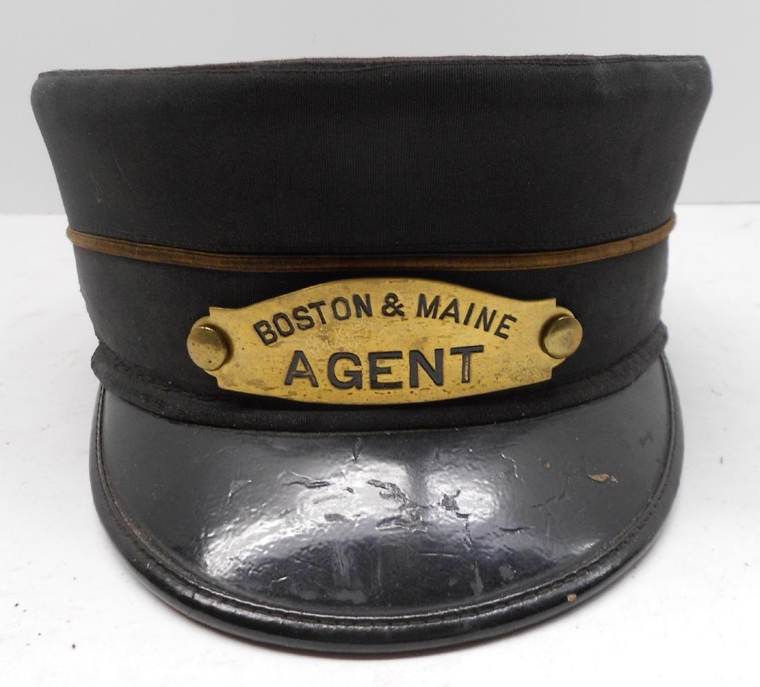 Boston & Maine Railroad Agent Uniform Hat