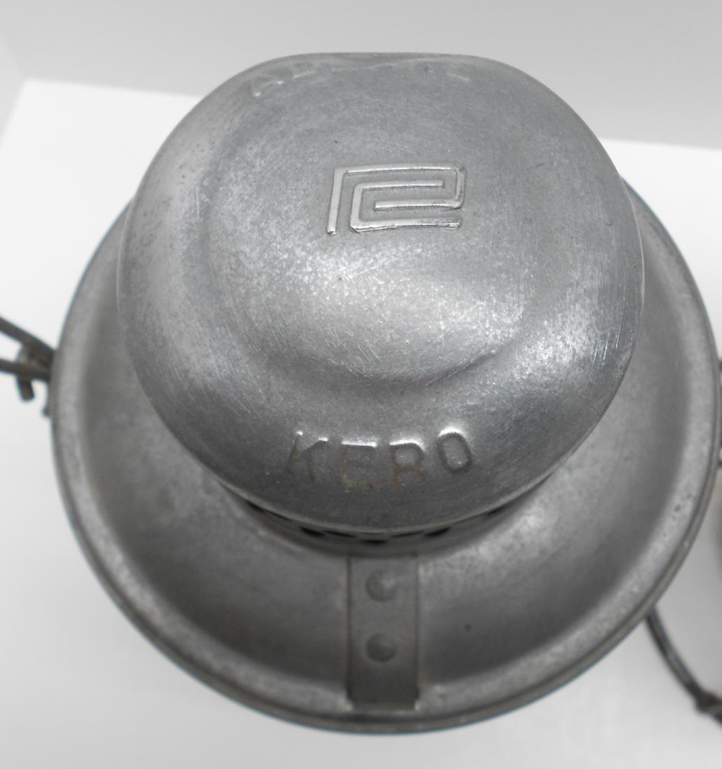 2 Short Globe Lanterns: Penn Central & NYC - 3
